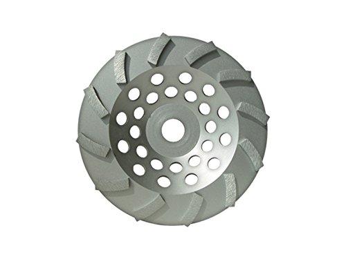 Blastrac CG-712ETB Concrete Turbo Diamond Cup Wheel 12 Seg Economy Blade, 7'' by Blastrac
