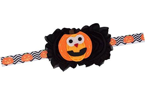 Pumpkin Headband Felt Headband Baby Girl Newborn Gift (Pumpkin Headband) ()