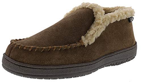 Clarks Men's Andrew Indoor Outdoor Faux Fur Slippers