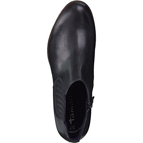 Femme 25336 Tamaris 21 Cuir Boots Noir dtSagqw