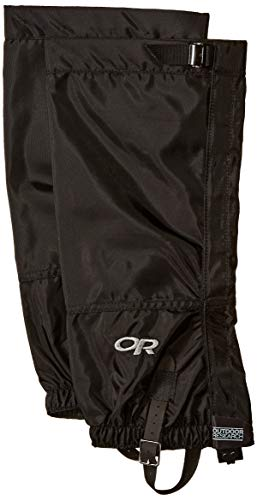 - Outdoor Research Men's Rocky Mountain High Gaiters, Black, Large