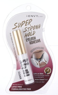 KISS i Envy Eyelash Adhesive Super Strong Hold Clear 0.176 oz