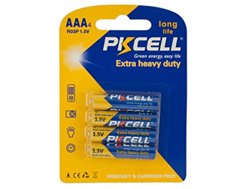 Price comparison product image PKCELL Heavy Duty AAA Batteries - Pack of 72