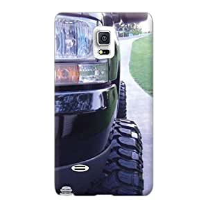 Bumper Hard Phone Cover For Samsung Galaxy Note 4 With Custom Lifelike Ford Truck Image JacquieWasylnuk