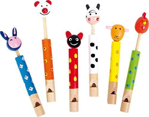small foot company 7744 - Juego de 6 Flautas de Animales ...