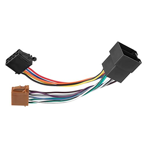 Aramox Wiring Harness Adapter, Car Stereo Headunit Wiring Cable Wiring Harness Adaptor: