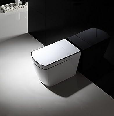 SYSINN SL620-2 Auto-open,Auto-close,Washer Heating,Cushion Heating,Radar Detect Smart 1-Piece Toilet Set