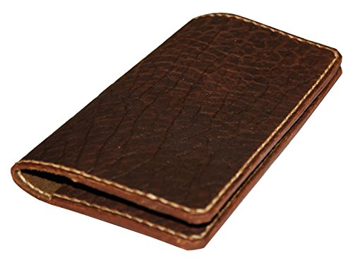 JP Leathercraft Handmade Bison Leather Case Cover Field Notes Moleskine Folklore