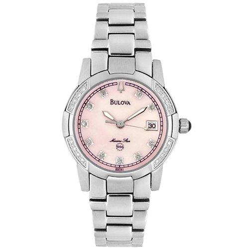Bulova Women's 96R41 Marine Star Diamond Accent Watch