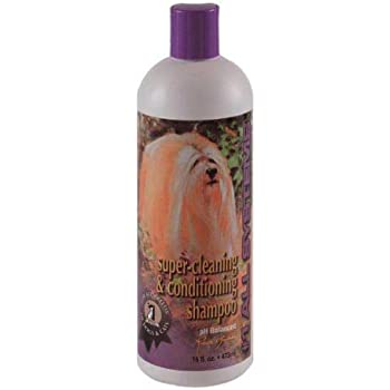 #1 All Systems Super Cleaning and Conditioning Pet Shampoo, 16-Ounce