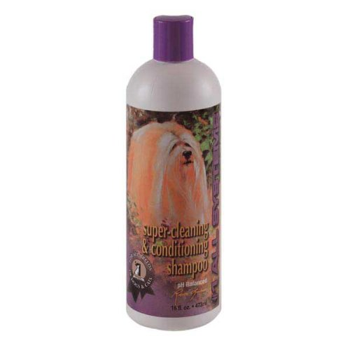 #1 All Systems Super Cleaning and Conditioning Pet Shampoo, 16-Ounce ()