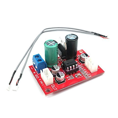 Best Microphone Preamp - SODIAL(R) NE5532 Dynamic Microphone Stereo Preamp Amplifier Board + Signal Shielding Wire
