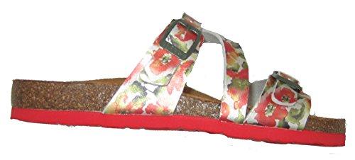 women mules amp; Red Khaki 700899 Dr Brinkmann Clogs 4 pBtt7U