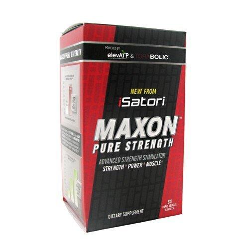 ISatori Maxon Pure Strength 84 Rapid Release Caplets by Isatori