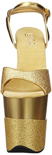 Strap Gold Ankle Gold Women's 809 2G Pleaser Flamingo nwXxZHqPS