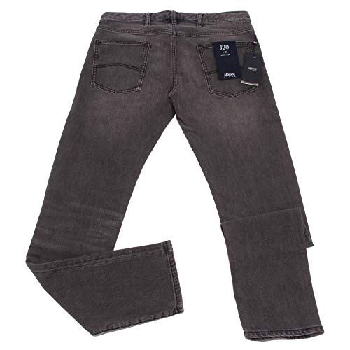 Extra Slim Trouser Armani Denim Jeans Grigio Grey Men J20 Jeans uomo 0793X 1xqwOq7Tp