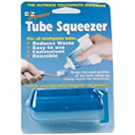EZ Squeeze Tube Squeezer Toothpaste Dispenser,set of 2,colors may vary