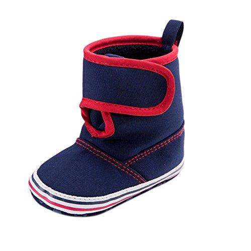 Saingace® Krabbelschuhe boots,Baby-Kleinkind -Säuglingsschneestiefel weiche Sohle Prewalker Krippe Schuhe