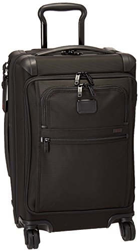 Tumi Alpha Front Lid International Carry-on, Black (14x9x22) by Tumi