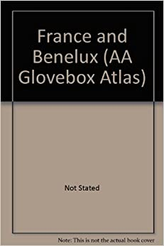 France and Benelux (AA Glovebox Atlas)