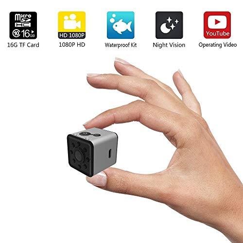 Leegoal Mini WiFi Camera, Wireless HD 1080P Indoor Home Smal