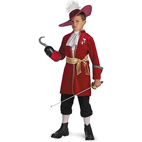 Toddler Captain Hook Costume 3T 4T