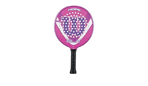 Amazon.com : Wilson 13 Hope BLX Platform Tennis Paddle by ...