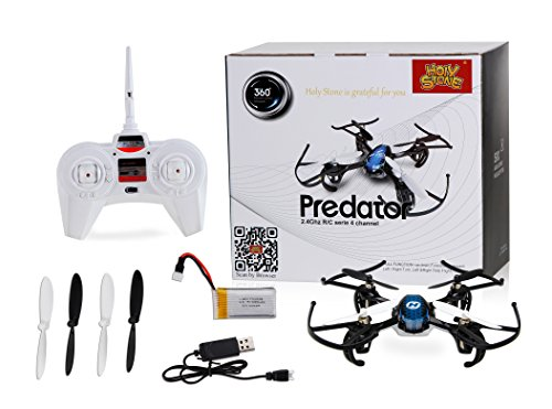 Holy Stone HS170 Predator Mini RC Helicopter Drone 2.4Ghz 6-Axis Gyro 4...