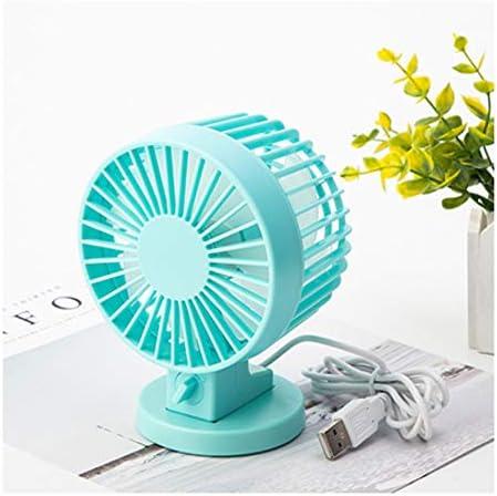 PTICA Mini Ventilador de Mesa USB de 4 Pulgadas con aspas Dobles ...