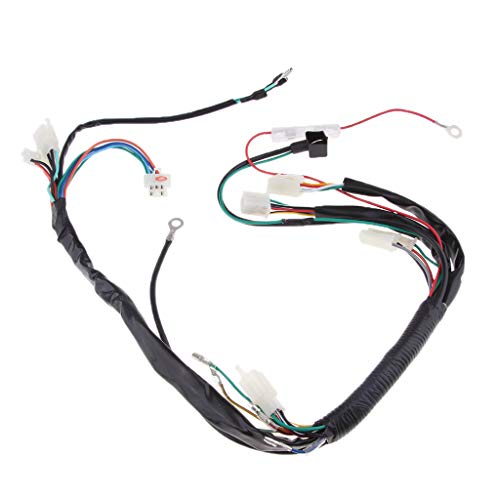 B Blesiya 39'' Engine Wiring Harness Loom for Motocross Quad Bikes ATV Buggy Go-Karts: