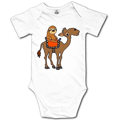 YUE-SKD-SK Sloth Riding Camel Cartoon Newborn Baby Girl