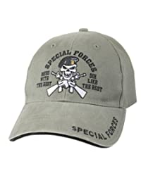 9887 Rothco OD Vintage Special Forces Low Profile Cap