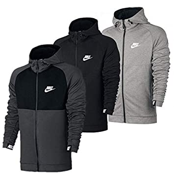Nike Herren Sport Freizeit Kapuzen Sweatjacke NSW AV15 Hoodie Jacke 861742 78d4f293a3