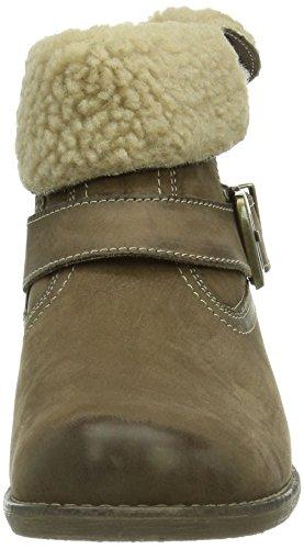 Caprice Santana-B-1 9-9-26440-23 008 Damen Kurzschaft Stiefel Beige (342 TAUPE NUBUC)