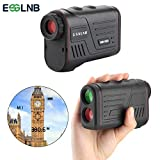 ESSLNB Hunting Range Finder Waterproof 6X22 Optics Multifunction Rangefinder with Strap Measuring Ranging and Speed for Racing,Shooting, Archery,Survey