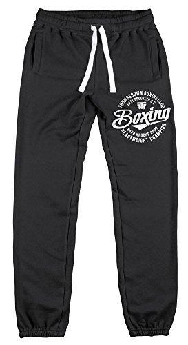 Pantaloni da jogging con risvolto orlo da BOX PESANTE CHAMPION thumbsdown joggers. pantaloni. PALESTRA allenamento. sportswear. running. casual.
