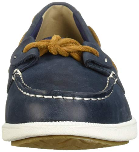 Weave Sperry Loft Oasis 6 Shoe Boat Women's sider Navy Medium Top Us 7nOq7ZT
