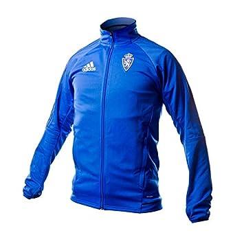 Adidas Rz Pre Jkt Chaqueta Línea Real Zaragoza, Hombre, Azul, XL: Amazon.es: Deportes y aire libre