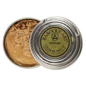 Baroque Art Gilders Paste - Highlight Metal, Wood and More!