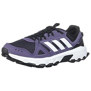 adidas Performance Women's Rockadia w Trail Running Shoe, Trace Purple/White/Core Black, 8 M US