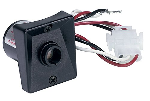 Solo Lights SPC-320 120V Automatic Dusk to Dawn Photocell Photo Control Light Sensor Switch for Hardwire Outdoor Lamp Posts with Ezee Change Plug, Works with Most Fixtures and Bulbs, UL Listed, Black