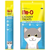 Me-O Creamy Treats with Chicken and Liver for Cats and Kittens - Pack of 5