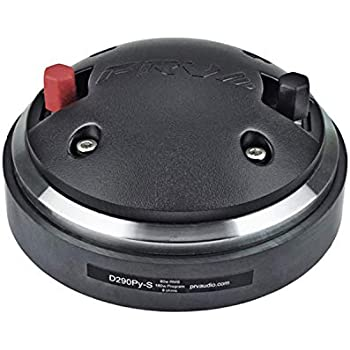 Horn Driver DT175Ph-S 8x PRV Audio WG175Ph 150W 8-Ohms Tweeter WG11-25 Combo