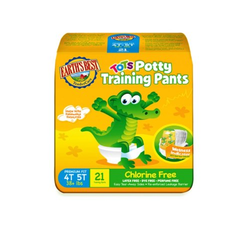 Earth's Best Training Pants 4T-5T, 21 Count, Baby & Kids Zone