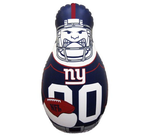 NFL New York Giants 40-Inch Inflatable Tackle Buddy - Sports New York Giants Inflatable