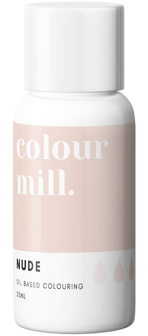 Colour Mill Oil-Based Food Coloring, 20 Milliliters Nude