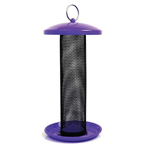 (Perky-Pet TSS00348 Shorty Sunflower Wild Bird Feeder, Purple)