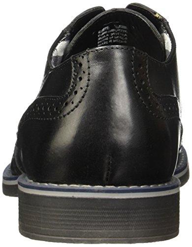 Wingtip Dress Shoe Lace Handmade Black Oxford Jeremy Mexico Men's Black Leather Flexi 92402 in qXTxU