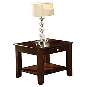 Steve Silver Company Nelson End Table, Cherry