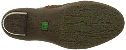 El Naturalista Nf77 Lux Suede Pleasant Lichen, Botines para Mujer Varios colores (Wood / Vaquero)